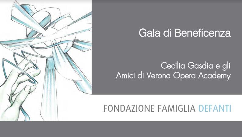 Gala Di Beneficienza Della Fondazione Famiglia Defanti