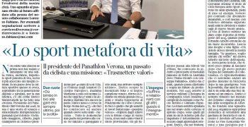 """""""Tipi Veronesi"""", La Mia Intervista Sul Corriere Di Verona"""