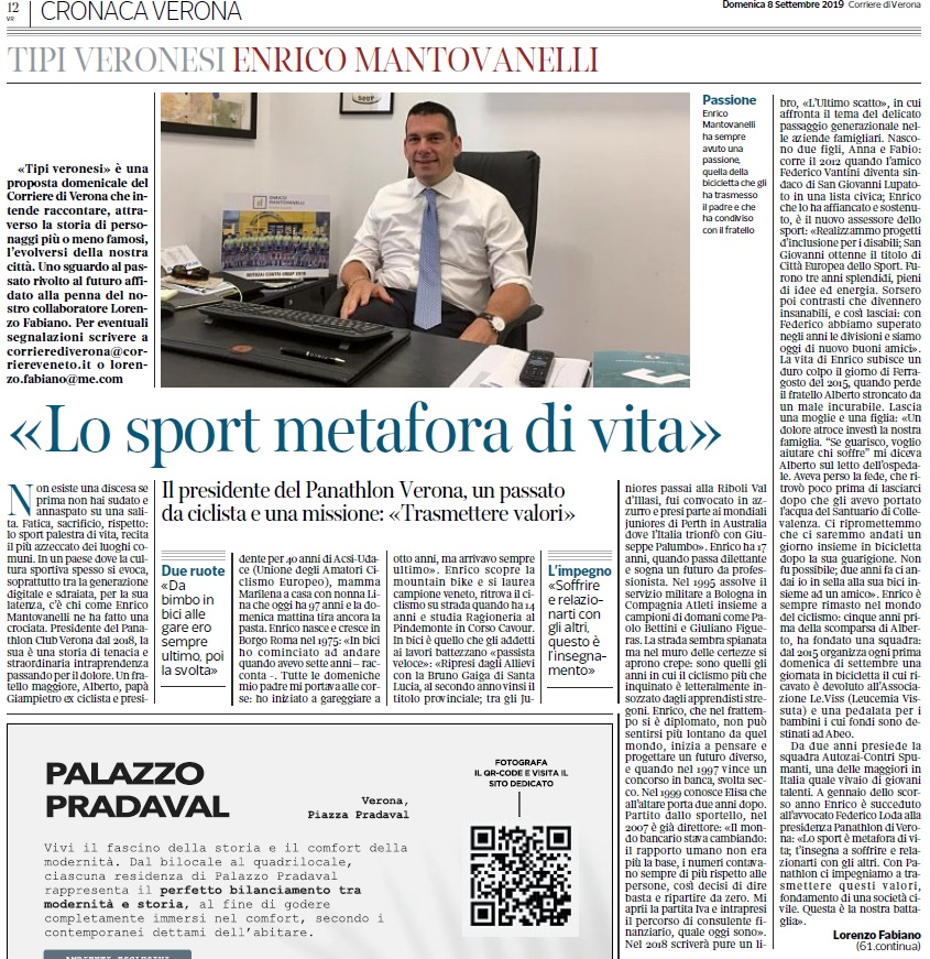 Corriere Di Verona 8 Settembre